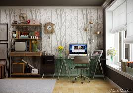 interior wallpapers for home workspace inspiration
