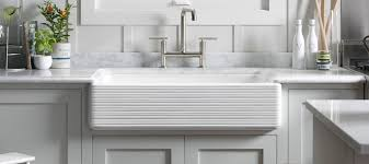Undermount Kitchen Sinks Kitchen KOHLER - White undermount kitchen sinks