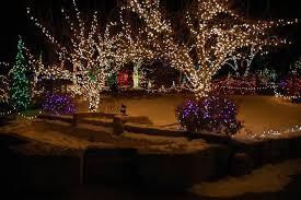 Idaho Botanical Garden Boise Id Winter Garden Aglow Tradition Draws Thousands To The Idaho