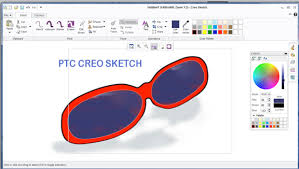 creo sketch a free 2d paint and sketch program from ptc virtual