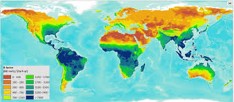 Rainfall Map United States by Erosivity Map Shows Differences Between Climatic Regions