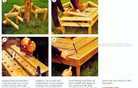bench tree bench plans free amazing tree bench plans full image