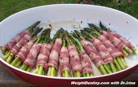 light dinner recipes for weight loss wrapped asparagus appetizers eating to lose weight your gps to