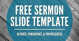 free sermon slide templates keynote powerpoint u0026 propresenter