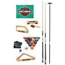 amazon com harley davidson billiard starter kit billiard balls
