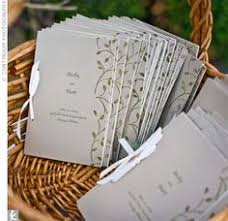 wedding ceremony program covers coloured church book pages wedding designs image
