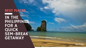 best places in the philippines for a sem getaway up