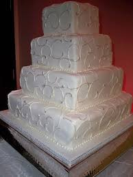 2010 maples wedding cakes pearl and sparkle square version
