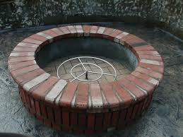astonishing brick fire pit ideas garden landscape