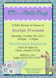 carters zoo garden baby shower invitation kustom kreations
