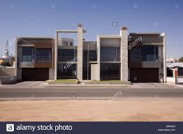 modernist house walvis bay namibia stock photo royalty free image