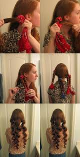 Easy Hairstyles For Medium Hair At Home by Top 10 Diy No Heat Curls Hair Style Hair Makeup And Vintage Curls