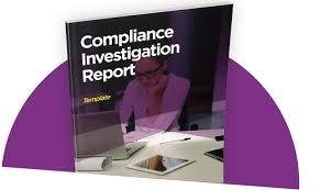 investigation report template compliance investigation report template i sight