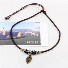 leather necklace with beads images Zoshi fashion long black leather necklace vintage design man jpg
