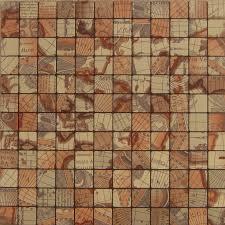 brown alucobond tile self sticker acp aluminum mosaic art