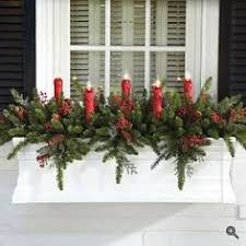 Window Box Decorations For Christmas Outdoor by Window Boxes For Winter Google Search Garden Ideas Pinterest