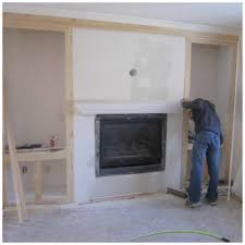 gas fireplace counterpoint the crown molding at top was actually