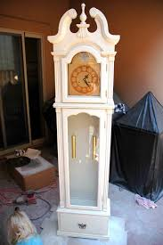 How To Transport A Grandfather Clock The Turquoise Piano Grandfather Clock Makeover