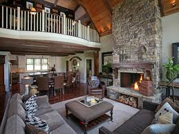 modern rustic homes dragonfly lodge contemporary living room atlanta by modern