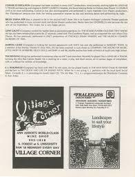 thanksgiving day 1992 ann arbor civic theatre program cinderella december 16 1992