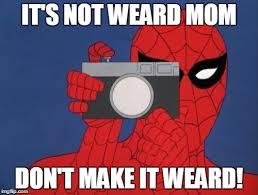 spiderman camera meme imgflip
