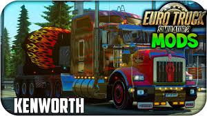kenworth engines kenworth t800 road skin engine wheels euro truck