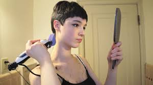 cut your own pixie haircut trimming my pixie cut youtube