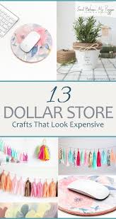 Pinterest Dollar Store Ideas by 13 Dollar Store Crafts That Look Expensive Everything Diy