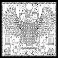 egypt eagle egyptian style with symbols by kchung egypt