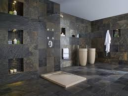 Bathroom Floor To Roof Charcoal by Slate Bathroom Floor Slate Cleaning Enhancing Sealing And