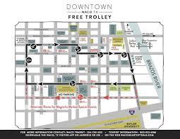 map waco silo district trolley magnolia market