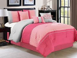 Fuschia Bedding Light Pink Queen Comforter