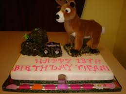 girls deer hunting birthday cake cake by dana cakesdecor