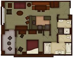 Animal Kingdom 1 Bedroom Villa The Villas At Disney U0027s Grand Californian Dvc Rental Store