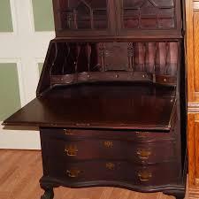 antique governor winthrop mahogany writing table secretary desk