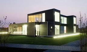 prefab houses modular glass house by philip johnson alan ritchie