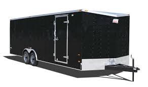 enclosed trailer exterior lights arrow canadian hauler trailers built for the long haul