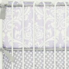 Lilac Damask Crib Bedding Baby Bedding Crib Bedding Rosenberry Rooms