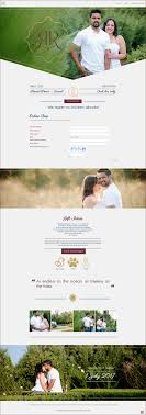 r and r wedding web design