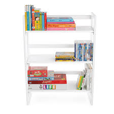stackable bookcases solid wood white solid wood stackable folding bookshelf the container store