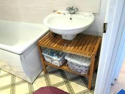 under bathroom sink storage bathroom storage ideas pedestal sink under stunning concept for