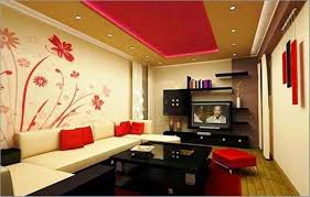 Wall Painting For Living Room  Beautiful Wall Painting Ideas And - Paint designs for living room