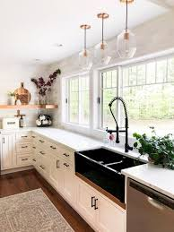 black kitchen countertops with white cabinets our 58 favorite white kitchens white kitchen design ideas