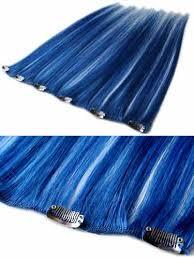 blue hair extensions blue hair extensions hairtrade