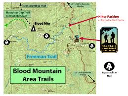 Appalachian Mountains On Map Hikes Near Our Shop At Neel Gap Mountain Crossings At Neel Gap