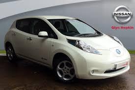 nissan leaf zero deposit used nissan leaf automatic for sale motors co uk