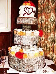 rustic wedding cupcakes diy tree cupcake stand