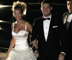 religious wedding michael bublé and his luisana lopilato continue their