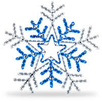 Outdoor Christmas Snowflake Decorations by Outdoor Christmas Decorations