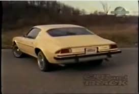 chevrolet camaro 1974 bangshift com historical footage the car and track review of the